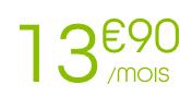 13.90€/mois